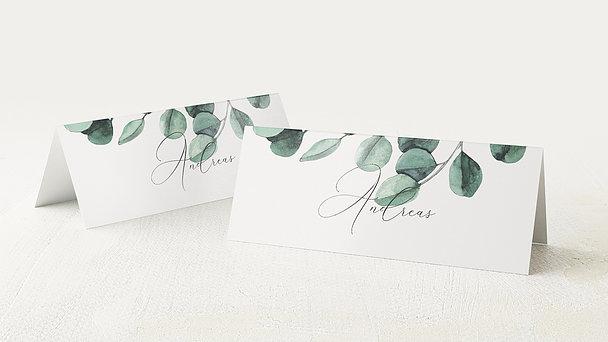 Tischkarten Hochzeit - Love bubble