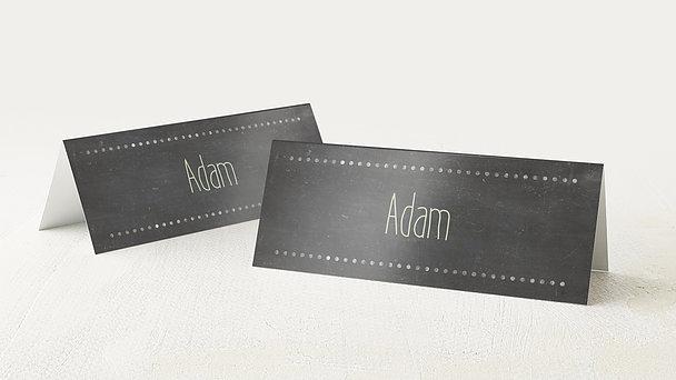 Tischkarten Hochzeit - Ankündigung