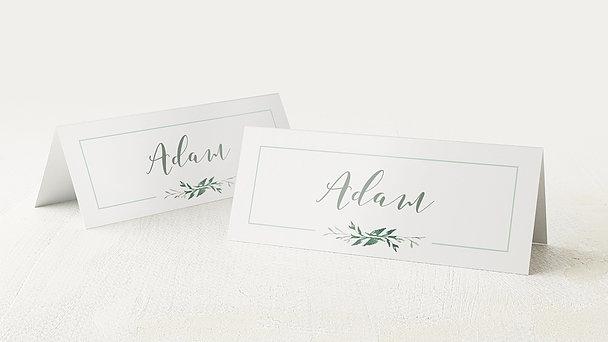 Tischkarten Hochzeit - Blütentraum
