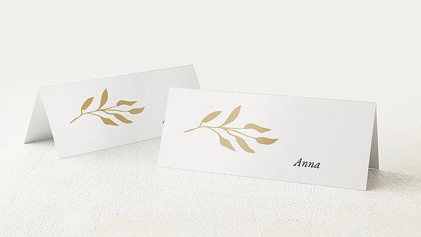 Tischkarten Hochzeit - Reich an Liebe