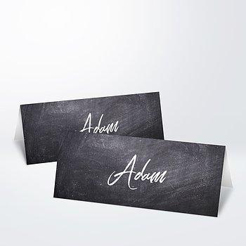 Tischkarten Hochzeit - Tafelglanz
