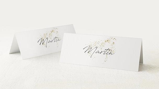 Tischkarten Hochzeit - Freudensprenkel