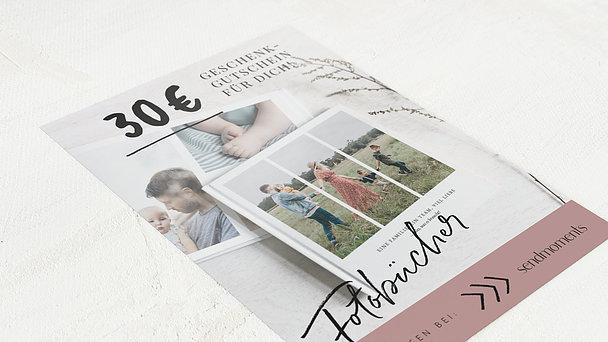 Geschenkgutscheine - Fotobuch