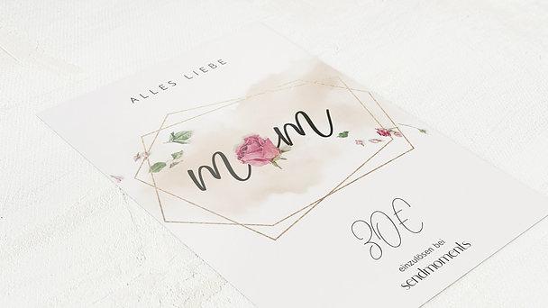 Geschenkgutscheine - Rosen für dich