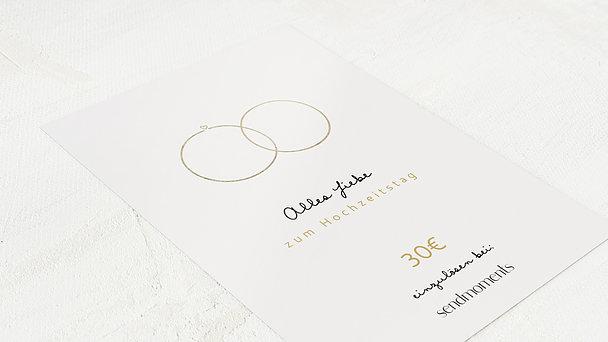 Geschenkgutscheine - Zarte Ringe