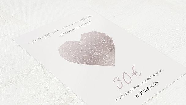 Geschenkgutscheine - Liebesdiadem Rose