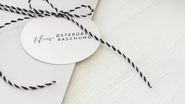 Geschenkanhänger allgemein - Glänzende Ostern