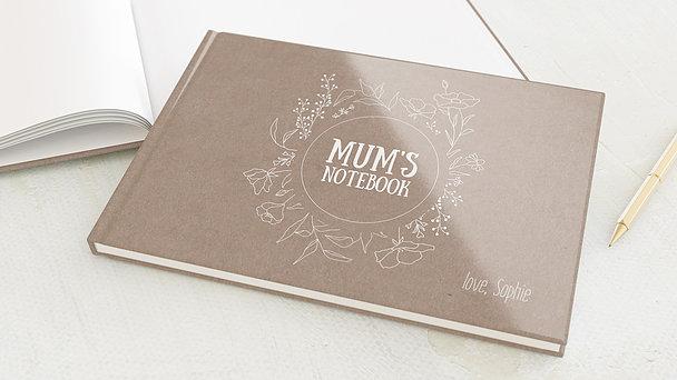 Notizbuch allgemein - Thank you mum