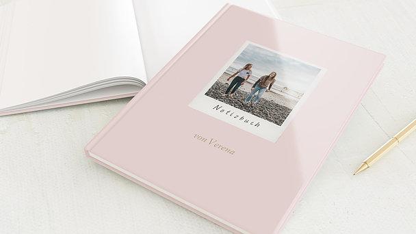 Notizbuch allgemein - Handlettering Rose