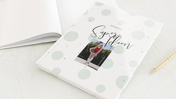 Notizbuch allgemein - Bubble Gum
