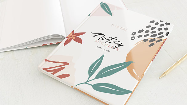 Notizbuch allgemein - Einfach abstrakt