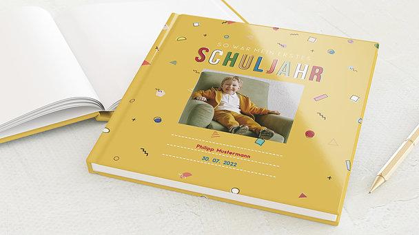 Notizbuch allgemein - Kunterbuntes Schuljahr