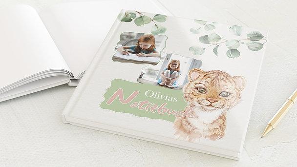Notizbuch allgemein - Dschungeltiger