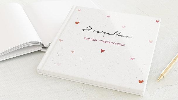 Poesiealbum - Pinke Herzchen