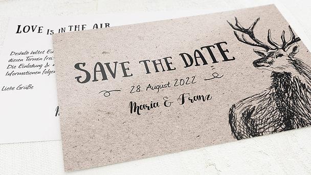 Save the Date - Tierisch guad