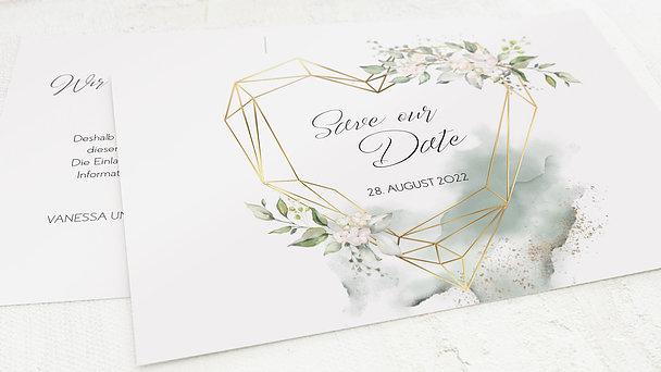 Save the Date - Herzliche Eleganz