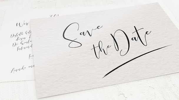 Save the Date - Our date