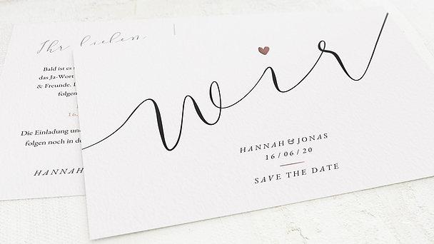 Save the Date - Für immer wir