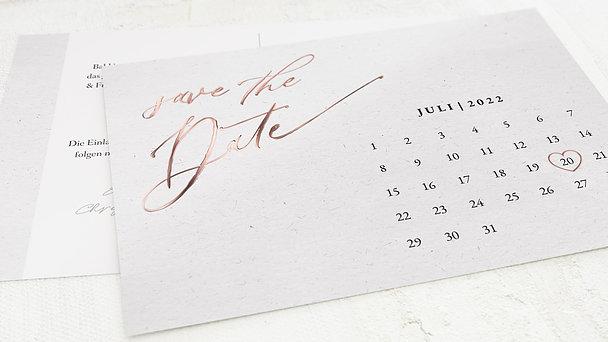 Save the Date - Liebesbotschaft