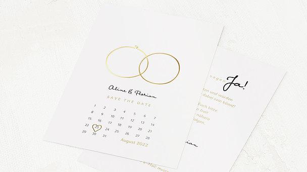 Save the Date - Zarte Ringe