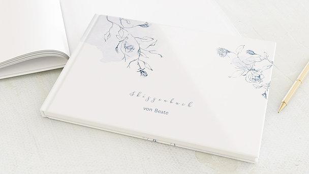 Skizzenbuch - Aquarell Ranken