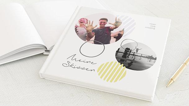 Skizzenbuch - Stift- & Pinselstrich
