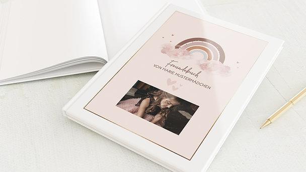 Freundebuch - Regenbogen