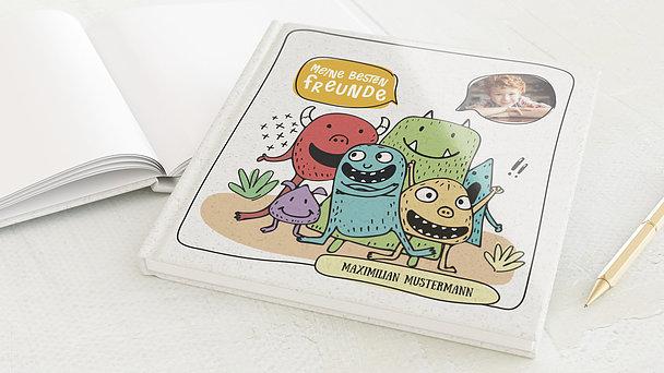 Freundebuch - Muntere Monster