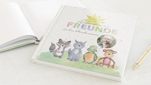 Freundebuch - Tierische Freunde