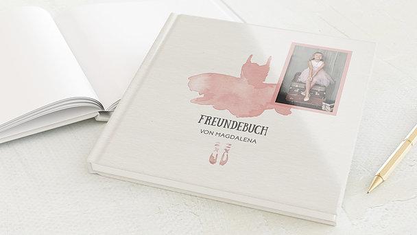 Freundebuch - Ballerina
