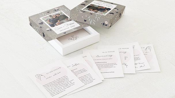 Tagebuchkartenbox Schwangerschaft - Start ins Babyglück