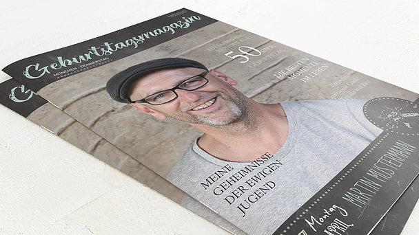 Geburtstagszeitung - Ankündigung Festschrift