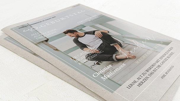 Geburtstagszeitung - Lebensfreude Festschrift