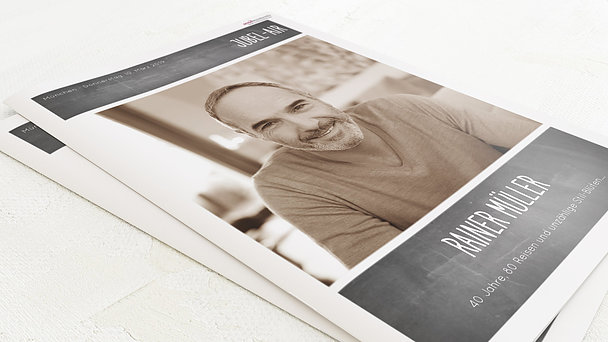 Geburtstagszeitung - Getäfelt Festschrift