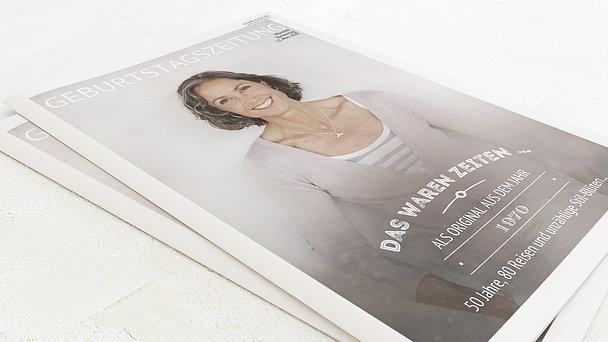 Geburtstagszeitung - Alte Zeiten Festschrift