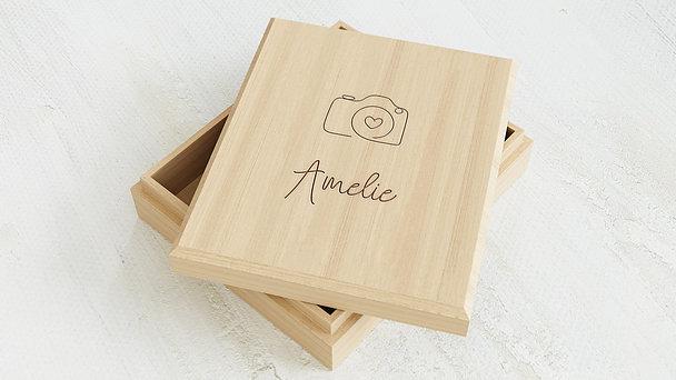 Erinnerungsbox Baby - Kamera