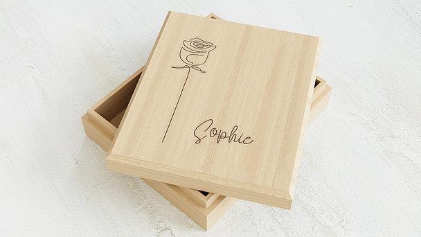 Erinnerungsbox Baby - Rose