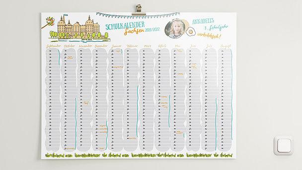 Schuljahreskalender - Morschn Sachsen