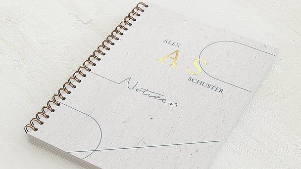 Notizbücher mit Spiralbindung - Moderne Linie