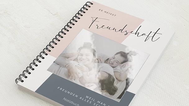 Notizbücher mit Spiralbindung - Freundschaft