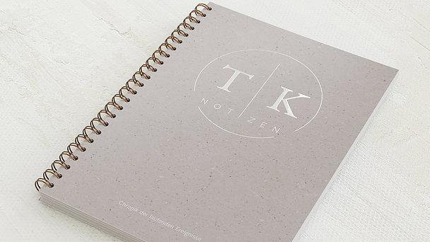 Notizbücher mit Spiralbindung - Circle Crafty
