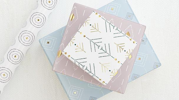 Geschenkpapier - Musterkunst