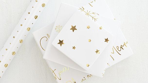 Geschenkpapier - Shiny decor