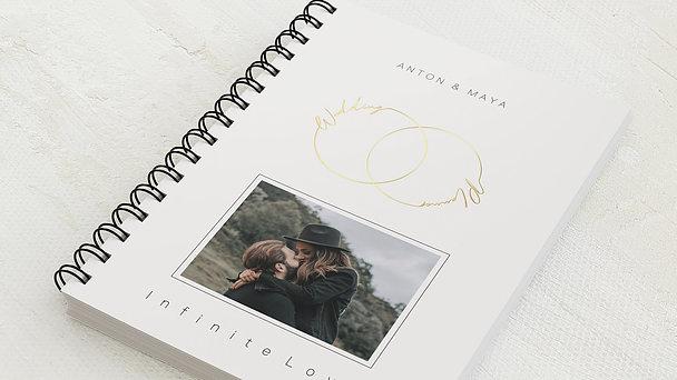 Hochzeitsplaner Spiralbindung - Hochzeitsplaner Ewiglich