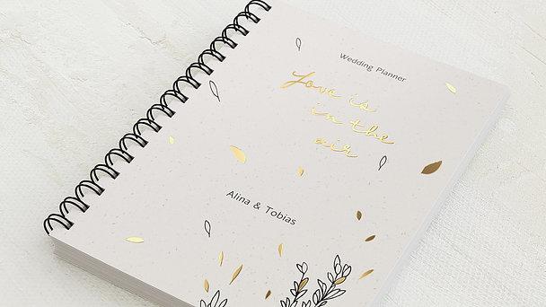 Hochzeitsplaner Spiralbindung - Hochzeitsplaner Blätter