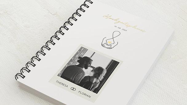 Hochzeitsplaner Spiralbindung - Hochzeitsplaner Liebe