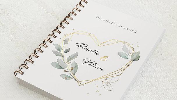 Hochzeitsplaner Spiralbindung - Hochzeitsplaner Heart