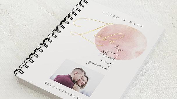 Hochzeitsplaner Spiralbindung - Hochzeitsplaner Moon