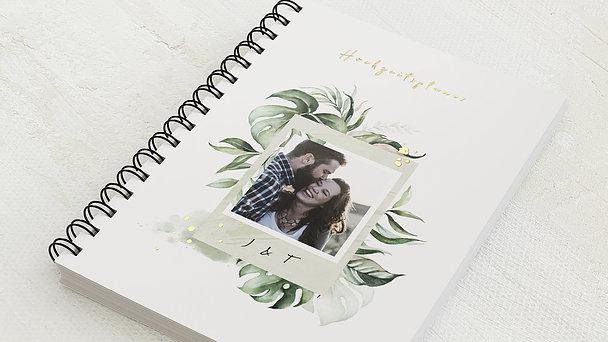 Hochzeitsplaner Spiralbindung - Hochzeitsplaner Blätterwerk