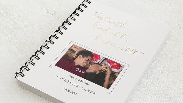 Hochzeitsplaner Spiralbindung - Hochzeitsplaner Verliebt